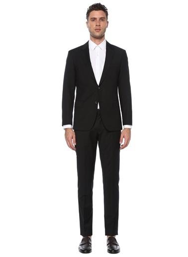 George Hogg George Hogg 7004151 Slim Fit Siyah Takım Elbise Erkek Takım Elbise Siyah